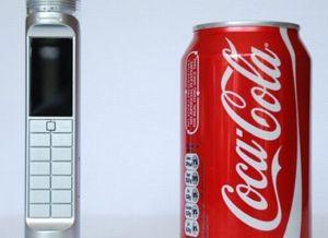 Nokia Coca cola powered phone